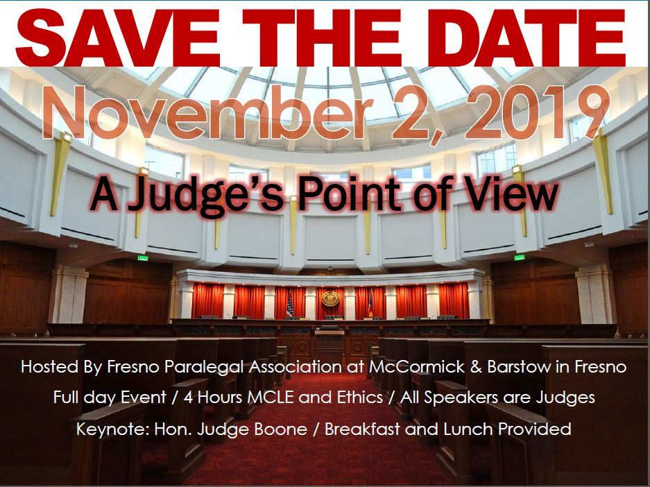San Francisco Paralegal Association - Calendar